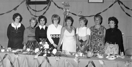 Hudson Elk's Club Ladies Aux. Banquet 1973 (1)