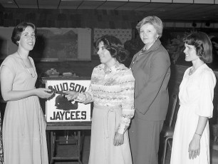 Hudson Jaycees and Jayceens Annual Joint Banquet 1978