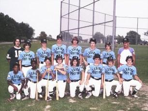 Legion Post #184 Babe Ruth Team Hudson 1975