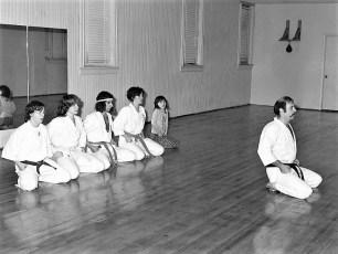 Mas Oyama School of Karate Hudson 1977 (1)