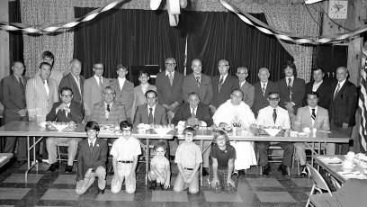 Mount Carmel Church 1st Communion Breakfast Hudson 1973 (1)