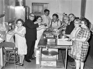 Mount Carmel Church 1st Communion Breakfast Hudson 1973 (2)