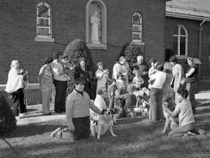 Mt. Carmel Church Blessing of the Pets Hudson 1975