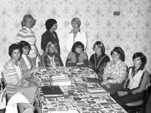Nearly New Shoppee volunteers at the Royalton Hotel Hudson 1977