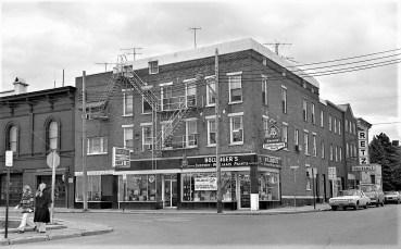 Park Place & Warren St. Hudson 1972