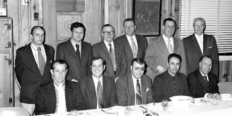 Polish Sportsmans Club New Officers Hudson 1973