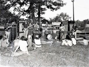 Ron Moore Band performing at Oakdale Lake Hudson 1972