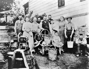 Making Ice Cream turn of the century (copy)