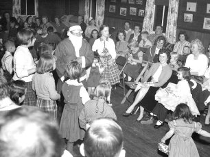 Clermont Fire Co. Christmas Party 1958