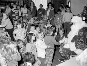 Clermont Fire Co. Xmas Party 1975