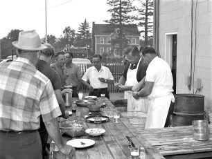 Clermont Fire Dept. Annual Clambake 1969 (3)
