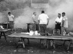 Clermont Fire Dept. Annual Clambake 1969 (6)