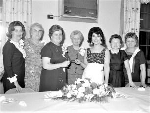 Clermont Ladies Aux. Annual Banquet 1967