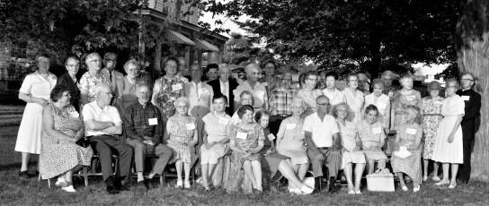 Col. Cty Retired Teacher's Picnic hosted by Elias & Lena Lynk Livingston 1965 (1)