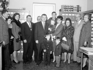 Col. Cty. District Attorney John Connors swearing in ceremony Dec. 1964 (2)