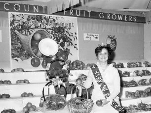 Col. Cty. Harvest Queen at Fair 1969