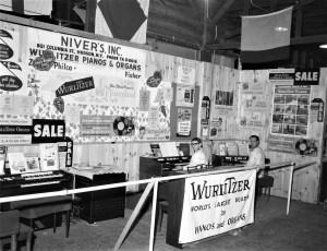Niver's Inc. display at Col. Cty. Fair 1965 (1)
