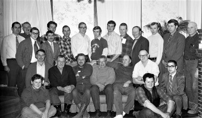 Col. Cty. Dairy Farmers meet at Jacques Farm Livingston 1973