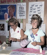 Dairy Princess Sherry Poetzsch at Col. Cty. Fair 1971 (2)