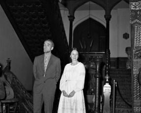 Olana Reception for Mr Huntington & Mrs. Livingston 1971 (1)