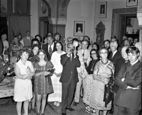 Olana Reception for Mr Huntington & Mrs. Livingston 1971 (3)