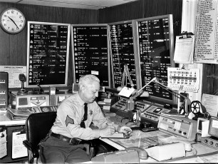 Col. Cty. Sheriff Dispatch Center 1974