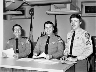 Columbia County Sheriff's Office  Officers & Staff 1976 (3)