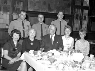 Police School Graduates Paul Proper, John Lascetti, and James Blass 1967