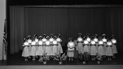 CMH 1963 Nurses Capping Ceremony at HHS (1)