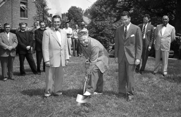 CMH 1950 Expansion Program Ground Breaking Hudson July  (1)