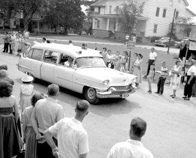 Col. Cty Volunteer Fireman's Parade Livingston 1958 (2)