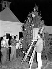 Linlithgo Fire Co. Christmas Tree 1959