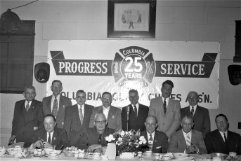 5th Annual Past Fire Chief's Banquet 1960