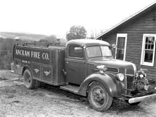 Ancram Fire Co. retired 1931 Ford pumper 1960