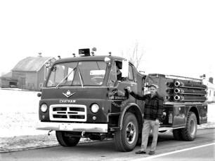 Chatham Fire Dept. new pumper 1967