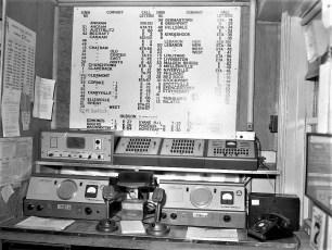 Col Cty Court House Radio Dispatch Center 1960