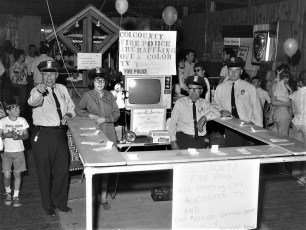Col. Cty. Fire Police at Col. Cty. Fair 1968