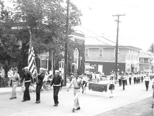 Col. Cty. Firemens Conv. Parade Germantown 1967 (1)