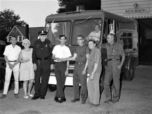 Greenport Fire Dept receives new emergency truck from Art Nack 1969