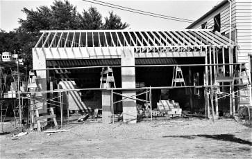 Greenport Fire Dept. addition underway 1969 (2)