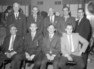 Linlithgo Fire Dept Banquet Officers 1964