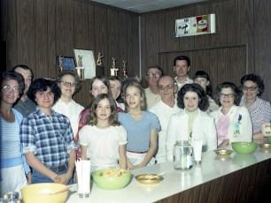 Churchtown Fire Co. Kitchen Crew 1975