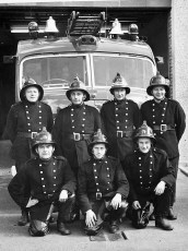 Linlithgo Fire Dept. copy of photo from Linlithgow, Scotland 1971