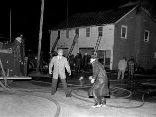 Churchtown Fire on top floor of the Firehouse Jan. 1959 (3)