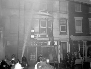 Hudson Fire 311 Warren St. Lincoln Hotel & Stanton Drug Store Dec. 1956 (3)