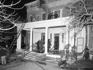 Hudson Fire Apartments 6th & Columbia St. Feb. 1955 (1)