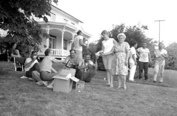 Ancram Fire Niver's Barn July 1967 (3)
