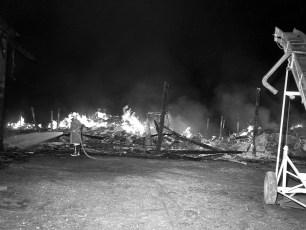 Churchtown Fire Rolf Schmalzer's barn Aug. 1965 (2)