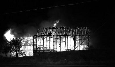 G'town Fire Charles Allen's barn Aug. 1962 (2)