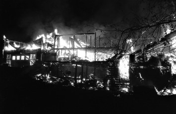 G'town Fire Milton Brush barn fire May 1961 (3)